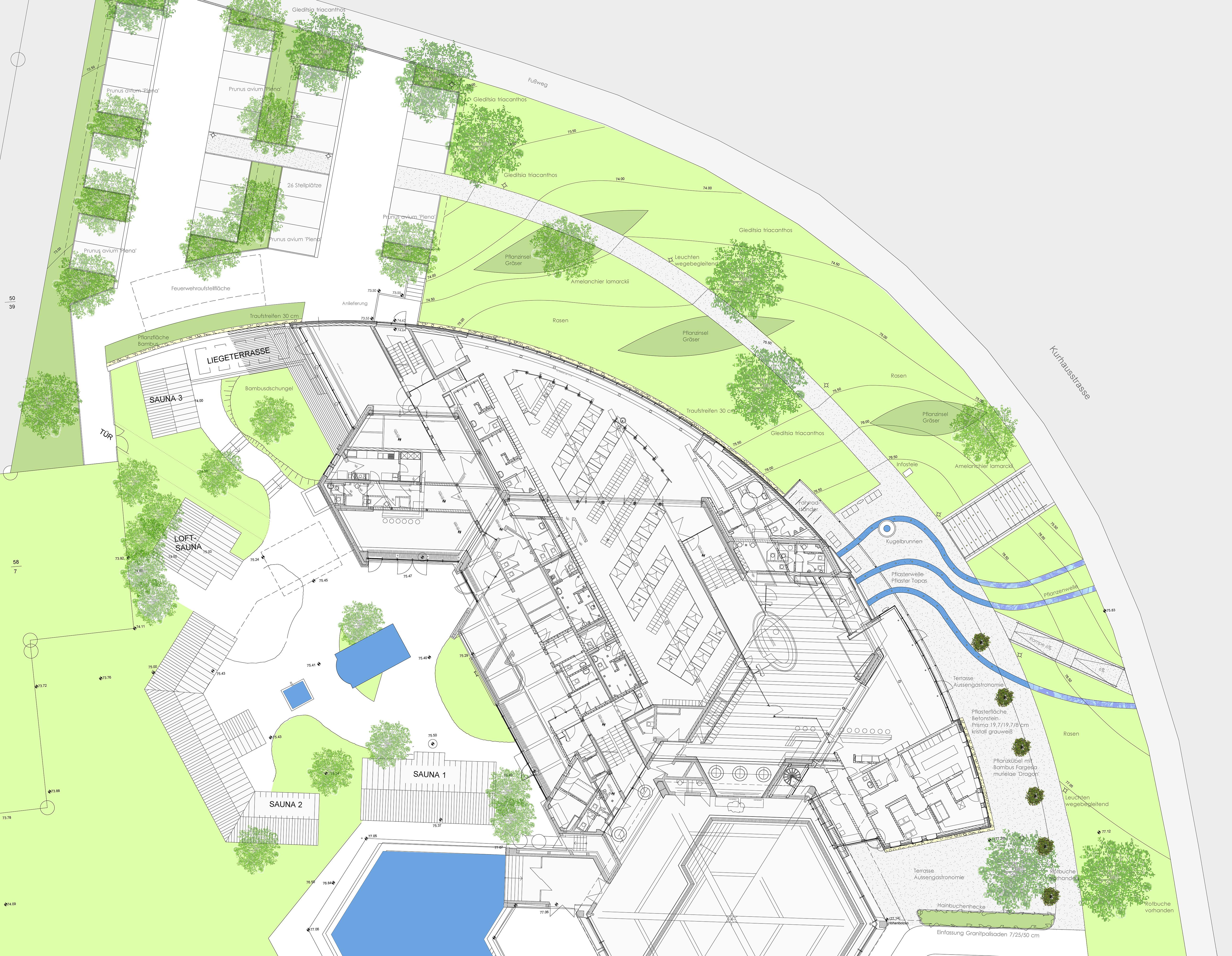 Grundriss des MCG Gehrden