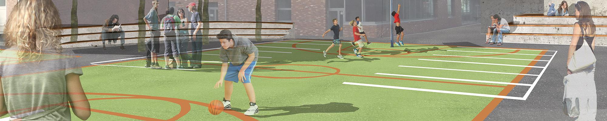 wettbewerb-schule-bremerhaven-perspektive-sportplatz-basketball-platz-fussball